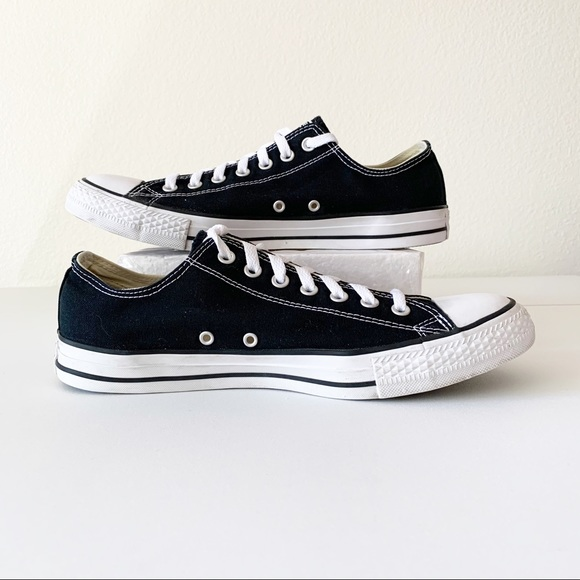 Unisex Converse All Star Black Low-top Sneakers